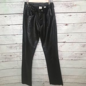 Wilsons Leather Maxima black pants, Size 6